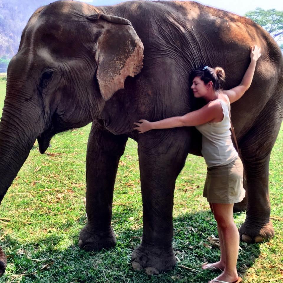 Casey-Cline-hugging-elephant