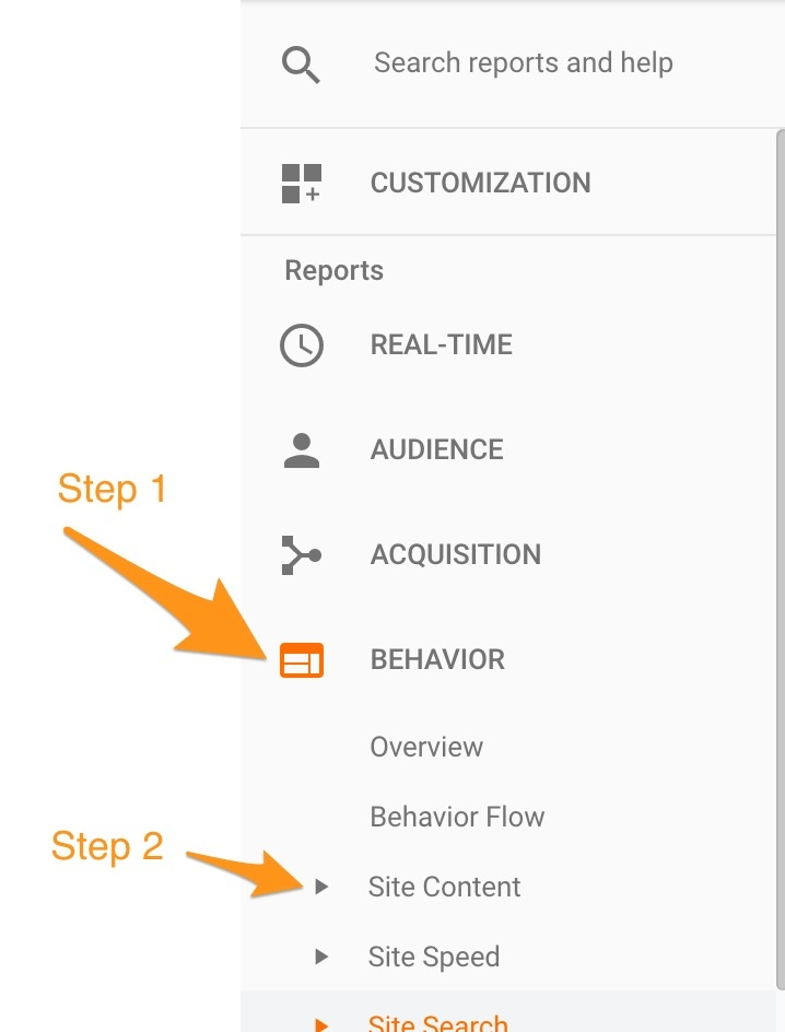 google-analytics-behavior-site-content-traffic-steps