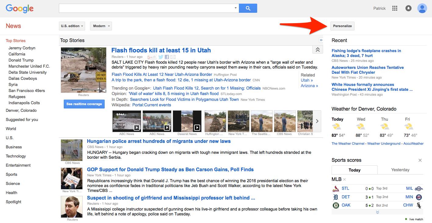 Using Google News for Blog Post Ideas | Verblio