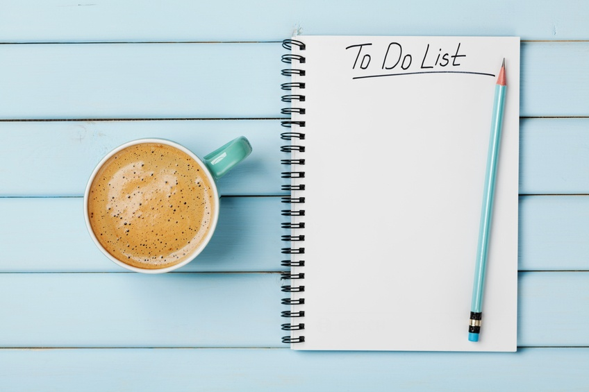 To-do-list-and-coffee
