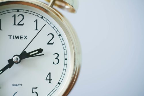 alarm-clock-with-gold-rim