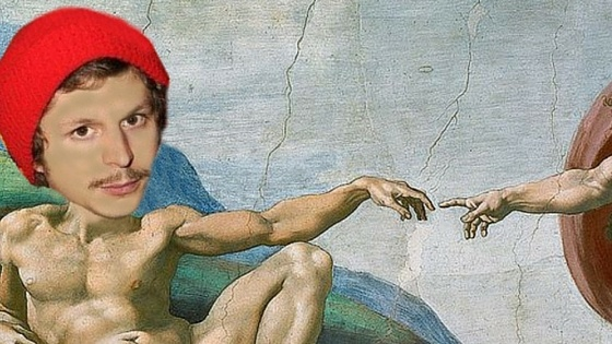 badly-photoshopped-michael-cera-as-Jesus-in-The-Creation-of-Adam-Painting
