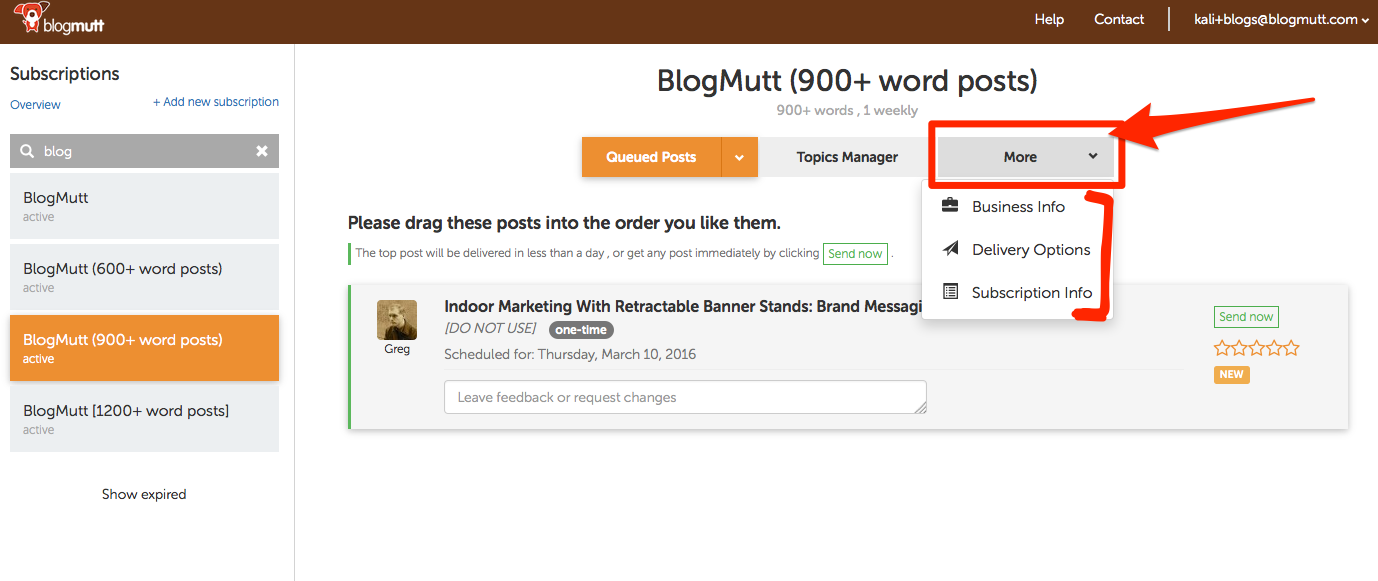 blogmutt-new-more-settings-make-changes-to-subscription-delivery-options-or-business-information