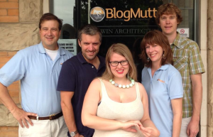 BlogMutt staff on third anniversary