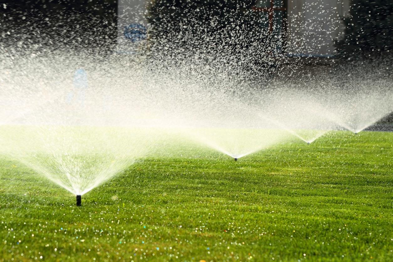sprinkler-system-green-grass