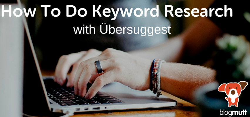 how-to-do-keyword-research-with-ubersuggest-female-hands-typing-on-laptop