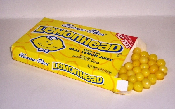 Lemonhead-candy