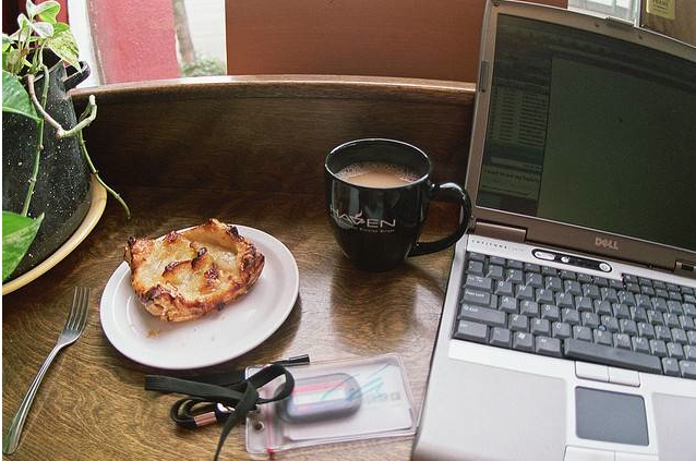 writer opportunity with coffee