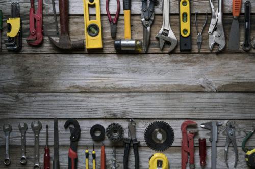 tools-on-wood-table
