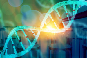 DNA research concept DNA barcodes for biomedical research mitochondrial DNA Prostate cancer DNA test