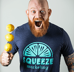 Michael Gasser—Co-Owner and Head of SEO and SEM at Squeeze Marketing