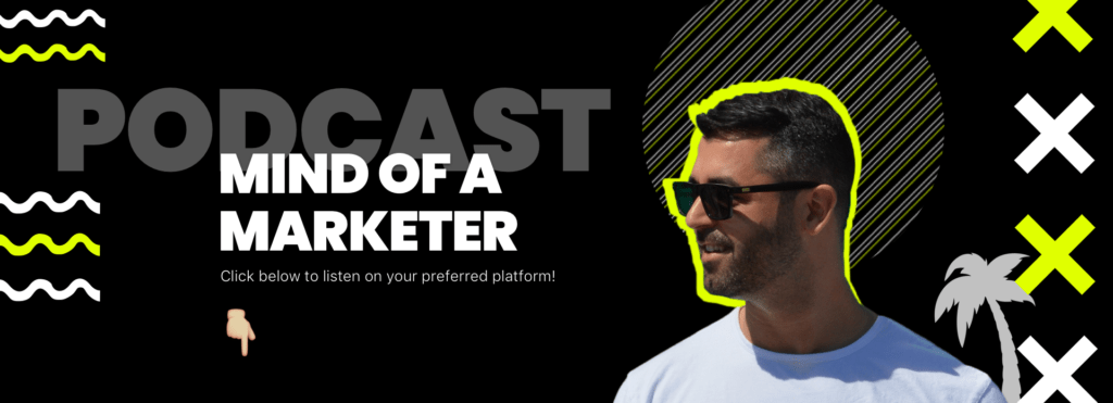 mind of a marketer podcast banner