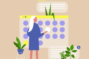 content marketing calendar template animation