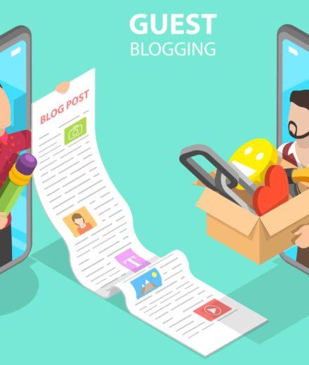 guest blogging animation