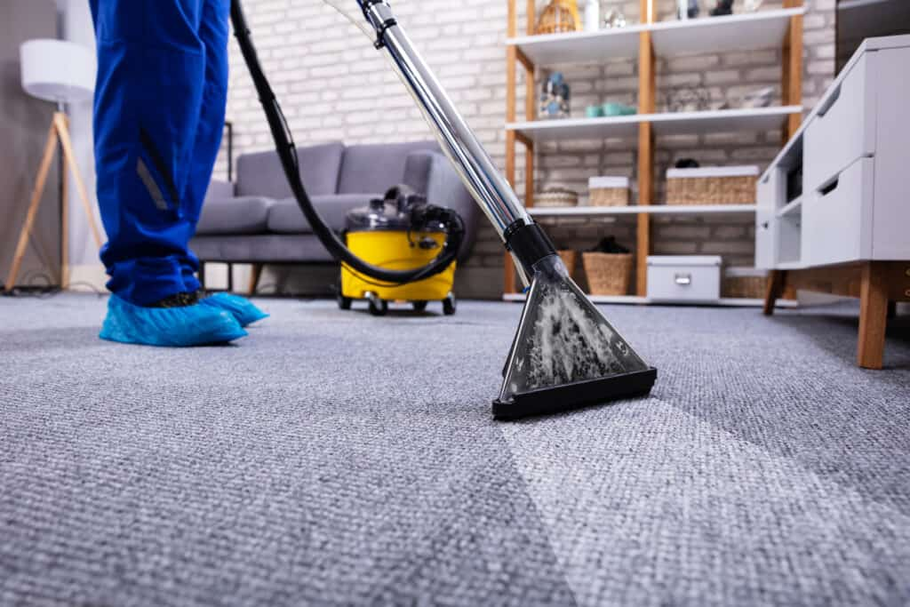 cleaning company vacuum